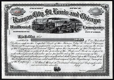 18__ Missouri: Kansas City, St. Louis and Chicago Railroad Company](Party City Saint Louis Missouri)