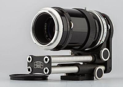 Carl Zeiss Objektiv Tessar 3,5/115 mm+Contarex Bellows Lens SHP 63965