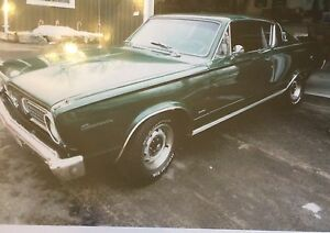 1966 barracuda Plymouth $19500