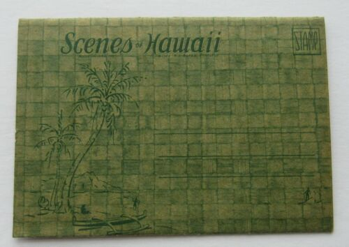 Scenes Of Hawaii Photo Booklet 1944 R.J. Bates