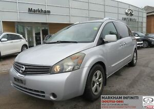 2007 Nissan Quest ASIS Super Saver , Leather, DVD