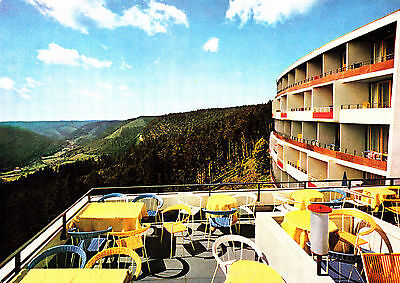 Sommerberghotel Wildbad ,ungelaufene AK