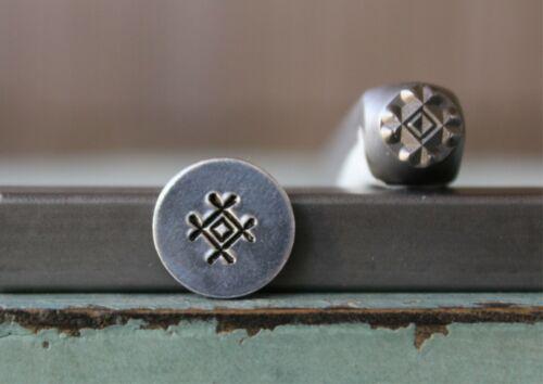 SUPPLY GUY 6mm Southwest Marking 3 Metal Punch Design Stamp SGCH-390