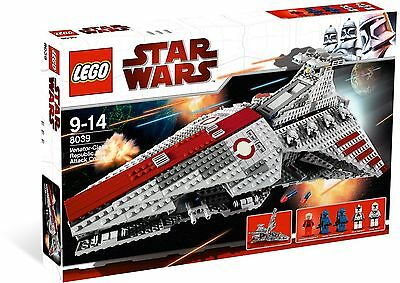 New  Lego Star Wars The Clone Wars Venator Class Republic Attack Cruiser 8039
