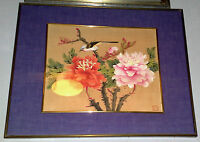 Dipinto Orientale Su Seta -  - ebay.it