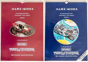 MATCHBOX Models of Yesteryear Calendars 1985 to 1995 Port Macquarie Port Macquarie City Preview