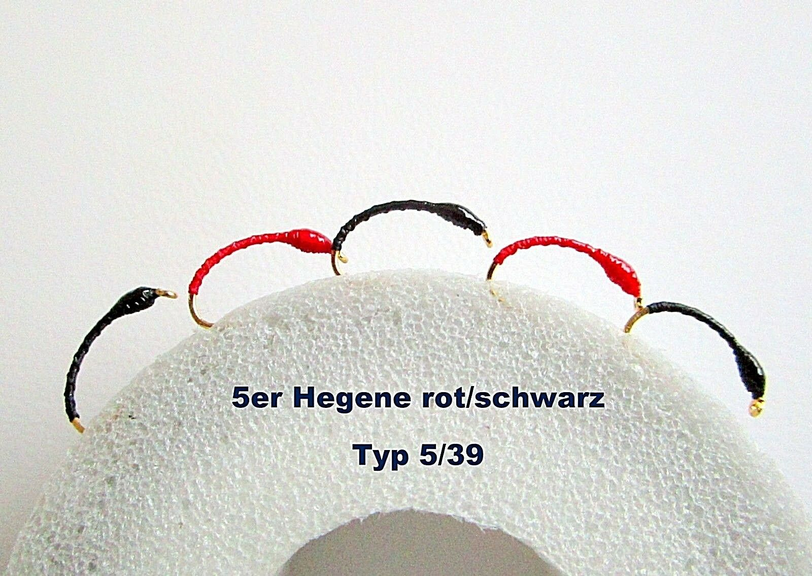 5er Büschelkopf  Nymphen Hegene  Renken Barsch Forellen Felchen Saibling Gambe