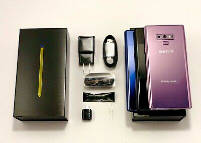 Samsung Galaxy Note 9 N960U 128GB AT&T, VERIZON,T-MOBILE,METRO FACTORY UNLOCKED