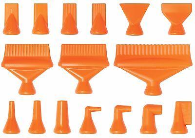 14 Nozzle-rama Pack 16 Nozzles Loc-line Usa Original Modular System 41490