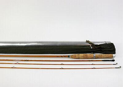 Hardy Marvel Palakona 7 1/2' 4WT, 2oz 3 Piece w/ Extra Tip Split Bamboo Fly Rod for sale  Shipping to Canada