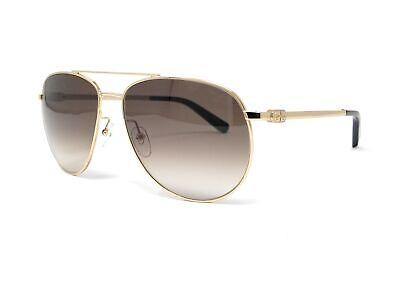 Salvatore Ferragamo Sunglasses SF157S 717 Shiny Gold Aviator (Ferragamo Sunglass)