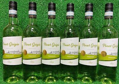 (5€/l) 6 x Wein- Genuss Pinot Grigio Venezia DOC trocken Weißwein Italien 0,75l
