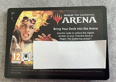 Magic Gathering Chandra, Flame's Catalyst Planeswalker Deck Code for MTG Arena