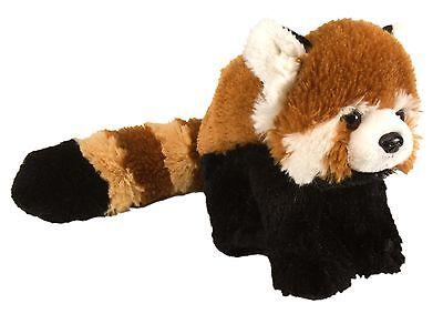 Plüschtier roter Panda Bär Kuscheltier Katzenbär Stofftier braun, ca. 20 cm
