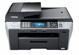 Printer/Copier/Fax Machine Brother MFC-6490cw (Barely Used)