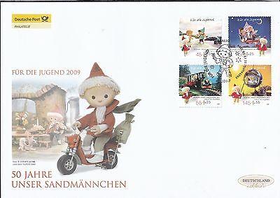 BRD 2009 Deutsche Post FDC MiNr. 2748-2751 Unser Sandmännchen