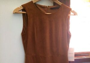 'Zara' brown suede dress Merewether Newcastle Area Preview