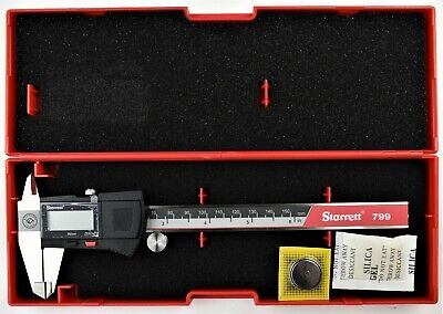 Starrett Electronic Caliper 0-6 0- 150mm Ec799a-6150 Edp 0142