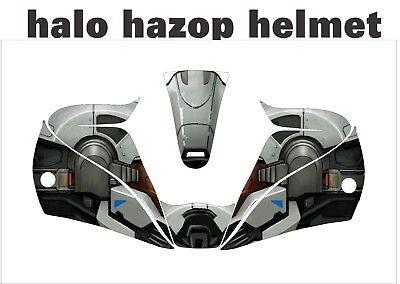 Lincoln Viking 2450 3350 Schweißen Jig Helm Umwickeln Aufkleber Abziehbild Halo Schweißen Helm Aufkleber