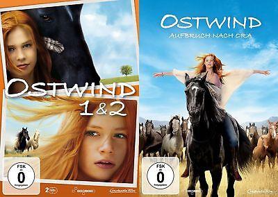 Ostwind 1+2+3 - (Aufbruch nach Ora) - (Hanna Binke) # 3-DVD-SET-NEU