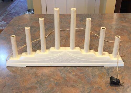 Vtg Christmas Royal Electric Candlelite, Window Drip Candle, Uses (8) C6 Bulbs