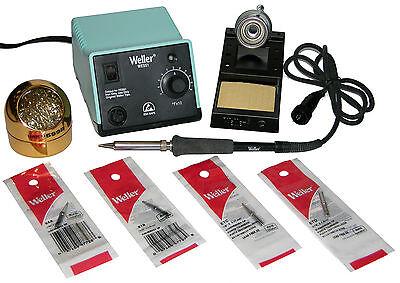 Weller Wes51 Analog Soldering Station W Chiselscrewdriver Tip Bundle 599b-02