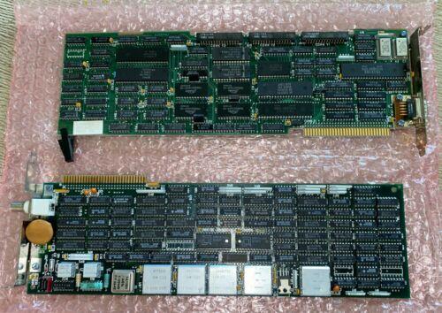 Rare IBM 3270 AT Computer Display Emulation Adapter Board Set 3270AT