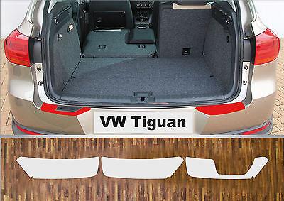 Ladekantenschutz Lackschutzfolie transparent VW Tiguan, 2007-2016
