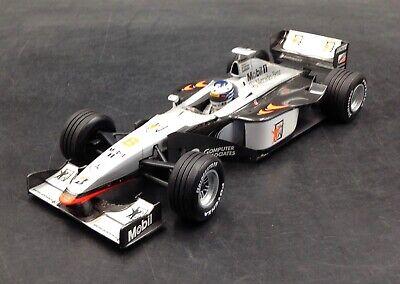 1/18 Minichamps Mercedes McLaren MIKA HAKKINEN 1998 F1 WORLD CHAMP CAR diecast