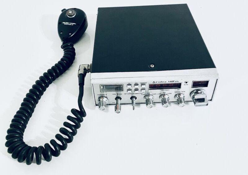 Cobra 148F GTL AM/SSB C CB Rdio with TELEX Microphone