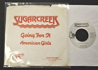 PICTURE SLEEVE 80's NC ROCK Sugarcreek Beaver 925 American Girls - 80s Rock Girls