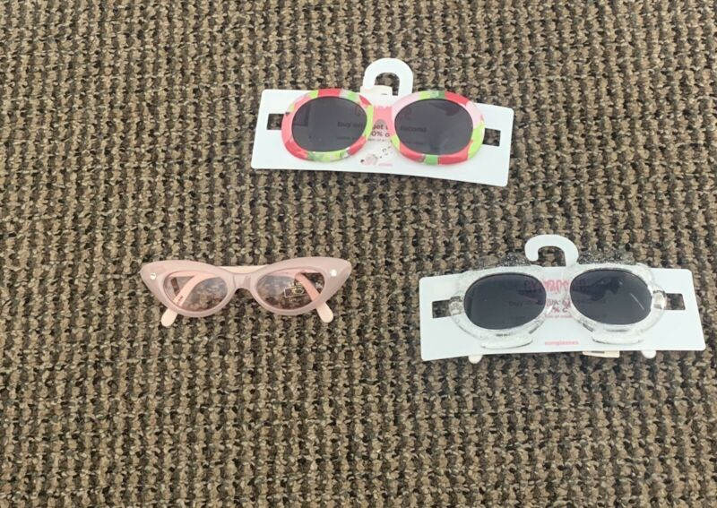 Gymboree Lot Of Sunglasses Glasses Size 0-2 Years New