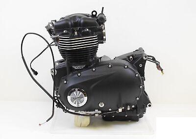 2018 Triumph Bonneville T120 Black Engine Motor 776miles -Video T1162915