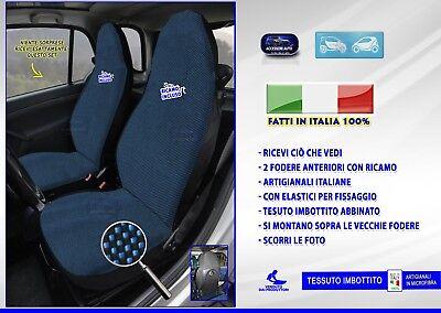 Fodere Smart 451 coprisedili per sedile auto blu fodera colori cotone specifiche
