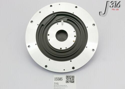 """15585 Lam Research Electrode,upper 6""""esc, Mjr Flat 718-094756-061"""