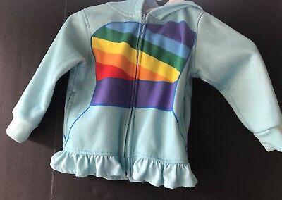 Rainbow Dash Jacket (My Little Pony Girl Rainbow Dash Costume Blue Fleece Hooded Jacket Hoodie)