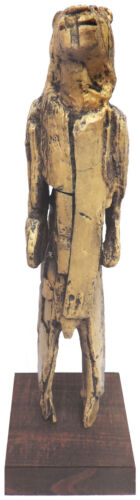 Lion Man  Current status of Paleolithic figurine - cast of resin - Mordant Stand
