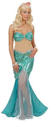 Meerjungfrau Wassernixe Kostüm NEU - Damen Karneval Fasching - Wasser Frau Kostüm