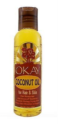 Okay Coconut Oil For Hair   Skin  2 Oz
