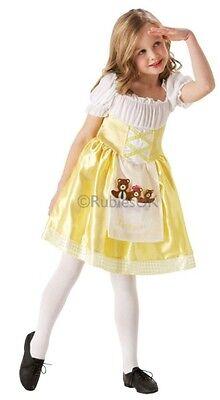 Girls Yellow Goldilocks Book Day Week Halloween Fancy Dress Costume Outfit - Girls Goldilocks Costume