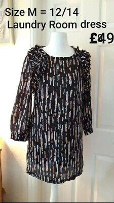SIZE 12 LAUNDRY ROOM DRESS NEW buy now ladies teen
