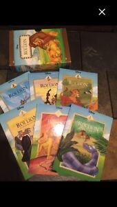 French brand new book set