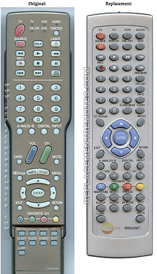 NEW Remote Control Replacement for Sharp Aquos RRMCGA242WJSA