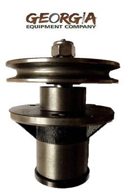 Bush Hog Blade Spindle Assembly 50051388 Pulley 50074053 Rdth Fth Ath Efm 4-5-6