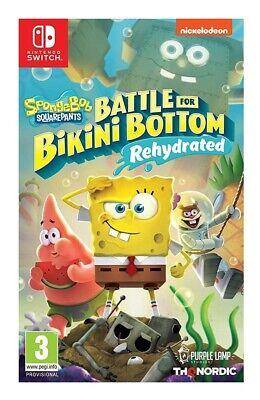 Spongebob SquarePants: Battle for Bikini Bottom - Rehydrated (Nintendo Switch)