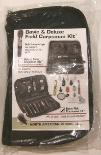 *NEW* North American Rescue NAR Basic Field Corpsman Kit 20-0001 USGI FREE Ship!