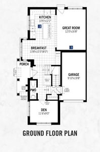 Corner Brand New Spacious town house for rent