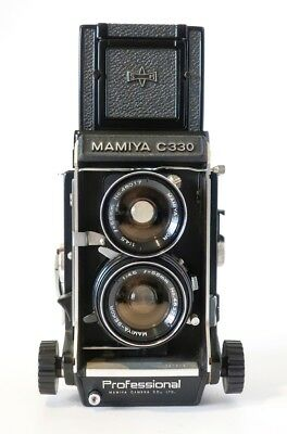 Mamiya C330 Twin Lens Relfex 120-220 Camera with 55mm and 105mm lens sets
