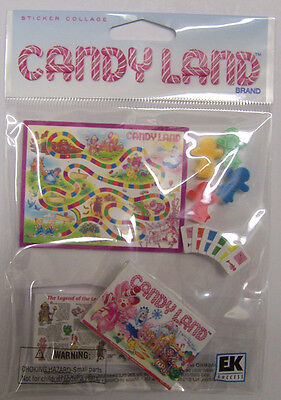 Hasbro Game Stickers - Hasbro CANDY LAND game 3D Stickers