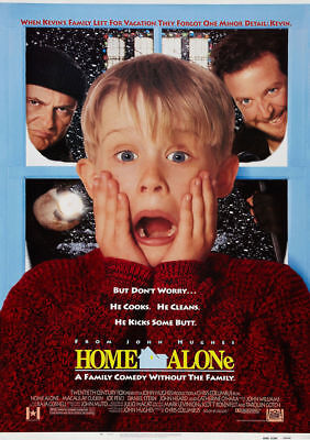 INTAGE MOVIE POSTER A5..A4 AND A3 OPTIONS  (Home Alone 4 Poster)